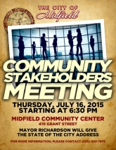 COMMUNITY STAKE HOLDERS MEETING