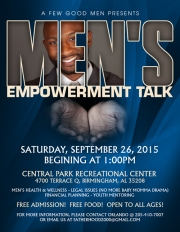 Men_s Empowerment Talk
