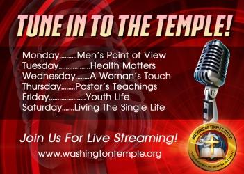 WT Online Radio Promotional Flat
