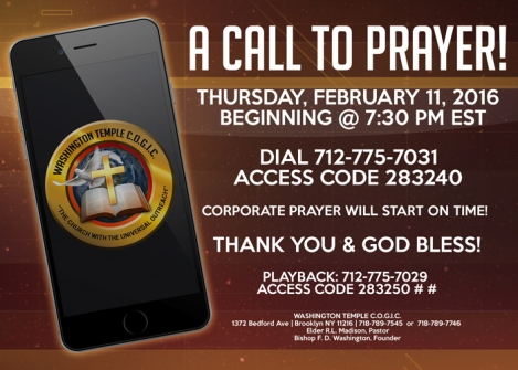 WT Prayer Line