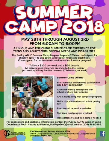 Purifoy Summer Camp 2018 a