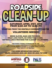 Road-Side Clean-Up 2018
