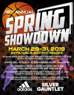 Spring Showdown 2019 Revised