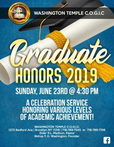 WT Graduates 2019