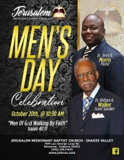 JMBC Men's Day 2019